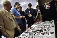 Campo d'Azione 2006 di Forza Nuova a Marta (VT): Merchandising in vendita meeting of forza nuova, raduno forza nuova
