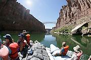 Navajo Bridge, Colorado River Grand Canyon ArizonaThe Grand Canyon, Arizona.Rafting, Colorado River, The Grand Canyon, Arizona.