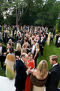 Raisa Gorbachev Foundation Party, at the Stud House, Hampton Court Palace on June 7, 2008 in Richmond upon Thames, London,Event hosted by Geordie Greig and is in aid of the Raisa Gorbachev Foundation - an international fund fighting child cancer.  7 June 2008.  *** Local Caption *** -DO NOT ARCHIVE-© Copyright Photograph by Dafydd Jones. 248 Clapham Rd. London SW9 0PZ. Tel 0207 820 0771. www.dafjones.com.