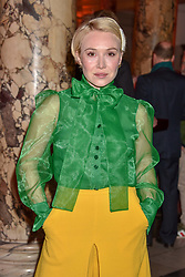Daisy Lewis at the Mary Quant VIP Preview at The Victoria & Albert Museum, London, England. 03 April 2019. <br /> <br /> ***For fees please contact us prior to publication***