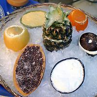 North America, Latin America, Mexico. Mexican Ice Desserts.