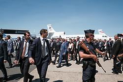 June 19, 2017 - Le Bourget, France - EMMANUEL MACRON - LE PRESIDENT EMMANUEL MACRON VISITE LE 52E SALON AERONAUTIQUE DU BOURGET, LE BOURGET, PARIS, FRANCE, LE 19/06/2017. (Credit Image: © Visual via ZUMA Press)