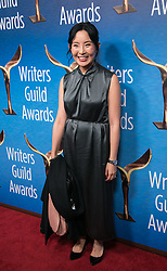 February 17, 2019 - Beverly Hills, California, U.S - Yahlin Chang in the red carpet of the 2019 Writers Guild Awards at the Beverly Hilton Hotel on Sunday February 17, 2019 in Beverly Hills, California. JAVIER ROJAS/PI (Credit Image: © Prensa Internacional via ZUMA Wire)