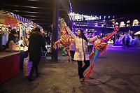 MEXICAN CHRISTMAS MARKET AT <br /> DROP COAL YARD KINGS CROSS LONDON