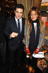 LUCA DEL BONO and his sister MELISSA DEL BONO at a party hosted by Allegra Hicks to launch Lapo Elkann's fashion range in London held at Allegra Hicks, 28 Cadogan Place, London on 14th November 2007.<br /><br />NON EXCLUSIVE - WORLD RIGHTS