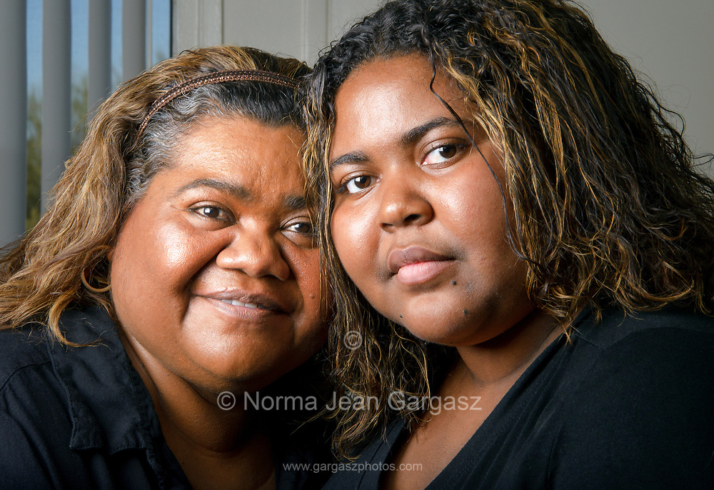 Mother and Daughter, Vivian Hedrington and Rita Brown, Tucson, Arizona, USA.