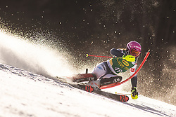 Josephine Forni (FRA) during the Ladies' Slalom at 56th Golden Fox event at Audi FIS Ski World Cup 2019/20, on February 16, 2020 in Podkoren, Kranjska Gora, Slovenia. Photo by Matic Ritonja / Sportida
