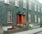 Old amateur photos of Dublin streets churches, cars, lanes, roads, shops schools, hospitals, Streetscape views are hard to come by while the quality is not always the best in this collection they do capture Dublin streets not often available and have seen a lot of change since photos were taken Irishtown Health Centre, North Wall,St Aueons High School,St Anna Dawson St November 1984