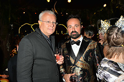 Left to right, ALEXANDER LEBEDEV and EVGENY LEBEDEV at The Animal Ball presented by Elephant Family held at Victoria House, Bloomsbury Square, London on 22nd November 2016.