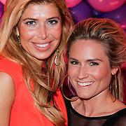 NLD/Amsterdam/20120330 - Emma Raising Fund Night, Estelle Gullit - Cruijff en Nikkie Plessen