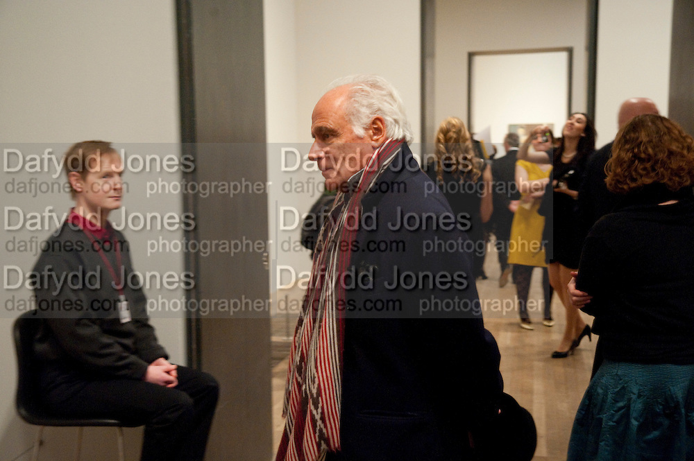 JOHN   STEFANIDES,  Joint opening reception for the  Van Doesburg and Arshile Gorky exhibitions. Afterwards a dinner for the Gorki exhibition. Tate Modern. London. 9 February 2010