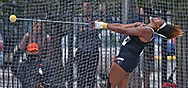 Seasons Usual of Texas Tech competes in the hammer throw during the Big 12 Outdoor Track & Field Championship at R.V. Christian Track & Field Complex in Manhattan, Kansas.
