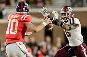 Nov 18, 2017; Texas A&M Aggies at Ole Miss Rebels at Vaught–Hemingway Stadium in Oxford, Miss. Photos by Thomas Campbell/Texas A&M Athletics