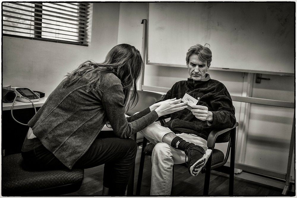 Homeless Health Care at Ruah in Northbridge Friday September 14,2018.