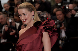 May 17, 2019 - Cannes, France - 72nd Cannes Film Festival 2019, Red Carpet film : Dolor y gloria.Pictured: Amber Heard (Credit Image: © Alberto Terenghi/IPA via ZUMA Press)