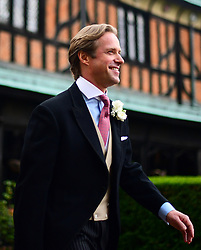 Groom Thomas Kingston arrives at St George's Chapel in Windsor Castle, ahead of his wedding to Lady Gabriella Windsor.