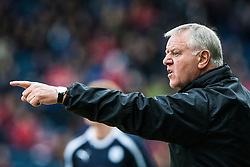 Jim Jeffries, Dunfermline's manager. Falkirk 1 v 0 Dunfermline, 16/2/2013..©Michael Schofield.