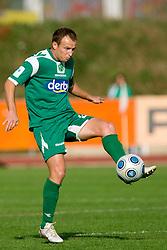 Jalen Pokorn of Olimpija at 13th Round of Prva Liga football match between NK Olimpija and Maribor, on October 17, 2009, in ZAK Stadium, Ljubljana. Maribor won 1:0. (Photo by Vid Ponikvar / Sportida)