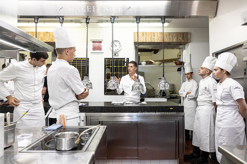 Guarene, Piemonte region, La Madernassa restaurant and resort