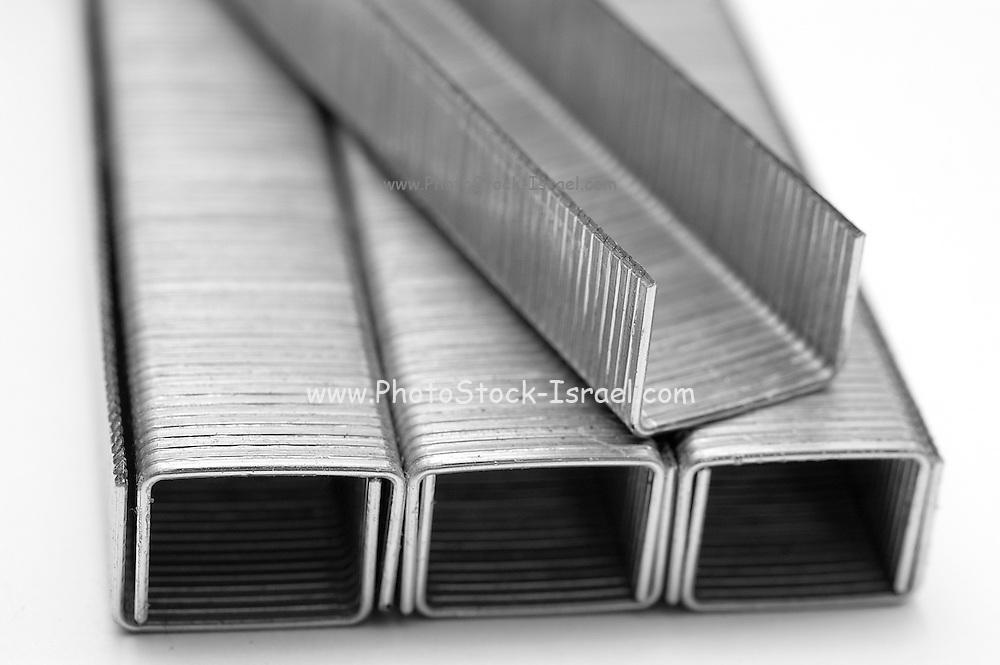 Paper stapler pins