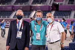 De Vos Ingmar, Caremans Dirk<br /> Olympic Games Tokyo 2021<br /> © Hippo Foto - Stefan Lafrentz<br /> 04/08/2021