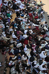 January 3, 2018 - Dhaka, Bangladesh - January 03, 2018 Dhaka, Bangladesh – Non-MPO (monthly pay order) teachers from different non-government institutions, lay down in the street as they continue the four day of their fast unto death hunger strike program in front of the National Press Club in Dhaka, Bangladesh, 03 January 2018. Some hundred teachers went for hunger strike demanding their inclusion of the government-approved educational MPO facilities while more than 80,000 teachers from 5,242 non-MPO institutions are working without any pay, according to the leaders. © Monirul Alam (Credit Image: © Monirul Alam via ZUMA Wire)