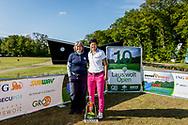 25-05-2019 Foto's van dag 2 van het Lauswolt Open 2019, gespeeld op Golf & Country Club Lauswolt in Beetsterzwaag, Friesland.<br /> Mette Hageman, pro en Zhen Bontan, beste amateur en overall winnares dames.