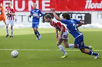 FotballFørstedivisjonTromsø IL vs Ranheim04.05.2014Thomas Drage, TromsøJørgen Olsen Øveraas, RanheimFoto: Tom Benjaminsen / Digitalsport