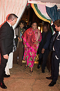 FIRST LADY OF GHANA, Ghana party, Venice, 8 May 2019