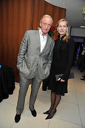 CHARLES DANCE and ELEANOR BOORMAN at the launch of the 2009 Derby Festival in the presence of HRH Princess Haya of Jordan in aid of the charity Starlight held at the Kensington Roof Gardens, 99 Kensington High Street, London W8 on 12th May 2009.