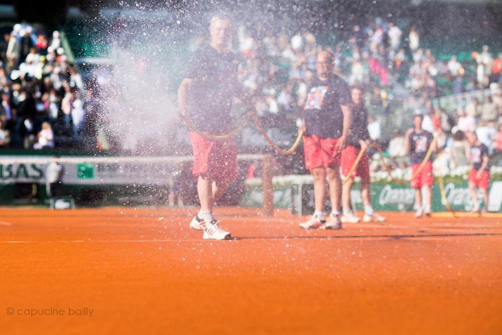 Paris, France. Roland Garros. June 1st 2013.