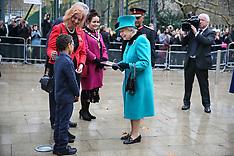 Her Royal Highness The Queen arriving to open The Queen Elizabeth II Coram Centre - 5 Dec 2018
