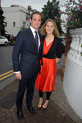 LADY KINVARA BALFOUR and RICCARDA LANZA at the annual Sir David & Lady Carina Frost Summer Party in Carlyle Square, London SW3 on 5th July 2007.<br /><br />NON EXCLUSIVE - WORLD RIGHTS