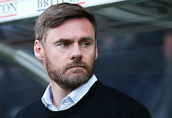 Scunthorpe United manager Graham Alexander - Mandatory by-line: Matt McNulty/JMP - 11/11/2017 - FOOTBALL - Glanford Park - Scunthorpe, England - Scunthorpe United v Bristol Rovers - Sky Bet League One