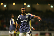 Wayne Routledge of Cardiff city in action. Coca Cola championship, Cardiff City v Sheffield Wednesday at Ninian Park, Cardiff on Sat 20th Dec 2008. pic by Andrew Orchard, Andrew Orchard sports photography,