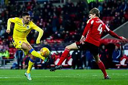 Liam Sercombe of Bristol Rovers takes on Glenn Loovens of Sunderland - Mandatory by-line: Robbie Stephenson/JMP - 15/12/2018 - FOOTBALL - Stadium of Light - Sunderland, England - Sunderland v Bristol Rovers - Sky Bet League One