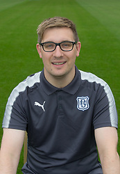 Dundee FC Head of media Tommy Young