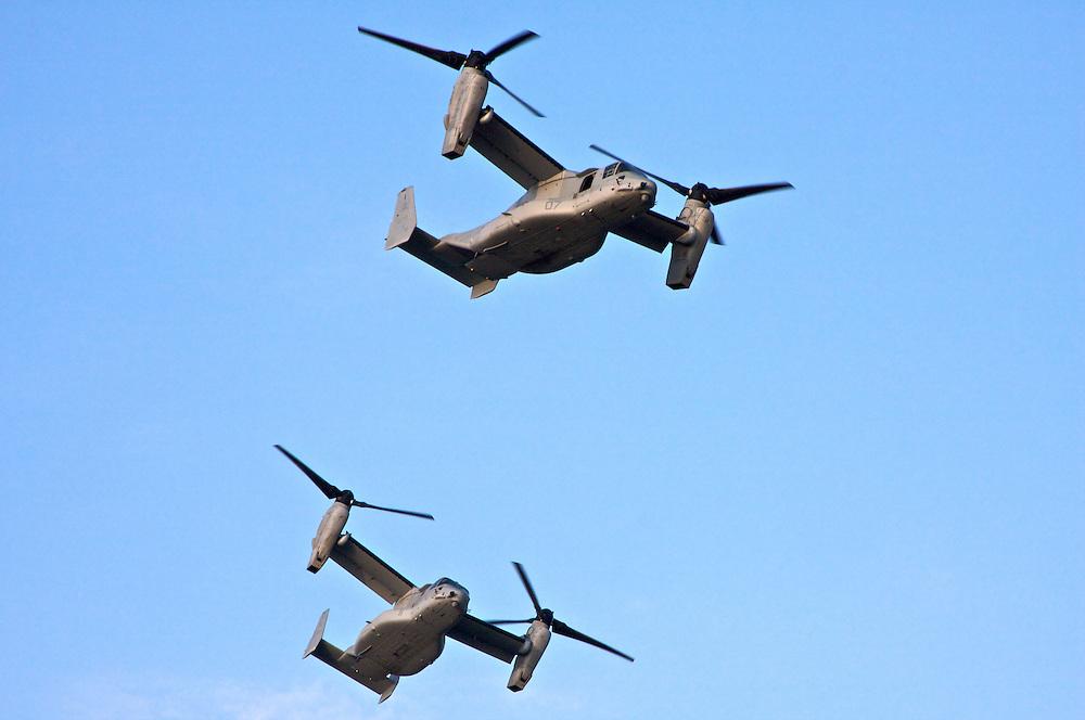 MS-22 Ospreys, Over New Orleans, Louisiana, USA