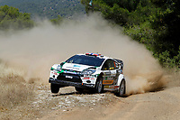 MOTORSPORT - WRC 2011 - ACROPOLIS RALLY - LOUTRAKI 16 TO 19/06/2011 - PHOTO : FRANCOIS BAUDIN / DPPI - <br /> 06 MADS OSTBERG (NOR) / JONAS ANDERSSON (SWE) - FORD FIESTA RS WRC - M-SPORT STOBART FORD WORLD RALLY TEAM - ACTION