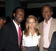 **EXCLUSIVE**.Pras Michel, Sheryl Crow and Sidney Poitier..Pras Michel of The Fugees Honoring The First Ladies of Africa at a Cocktail Reception in partnership US Doctors For AFRICA..WP Wolfgang Puck Restaurant..Pacific Design Center..West Hollywood, CA, USA..Monday, April 20, 2009..Photo By Jennifer Smulin/Celebrityvibe.com.To license this image please call (212) 410 5354; or Email: celebrityvibe@gmail.com ; .website: www.celebrityvibe.com.