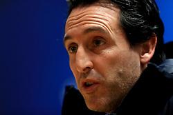 File photo dated 22-11-2016 of Paris Saint-Germain manager Unai Emery.