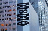 Sign, Museum of Modern Art, Manhattan, New York City, New York USA