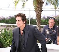 Benicio Del Toro at the 7 Dias En La Habana photocall at the 65th Cannes Film Festival France. Wednesday 23rd May 2012 in Cannes Film Festival, France.