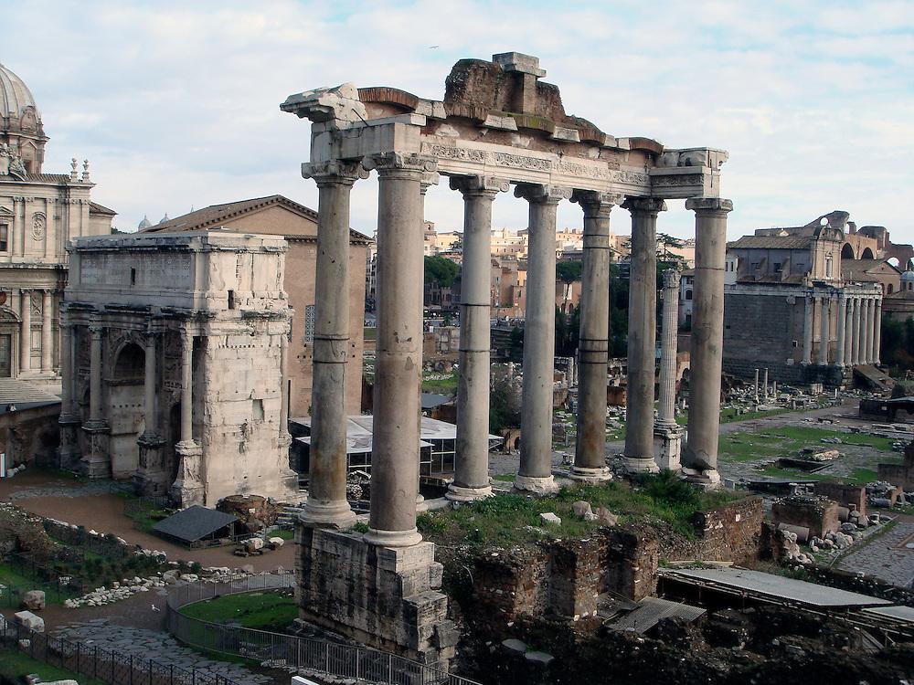FORUM ROMANIUM, ROME ITALY