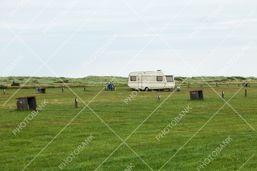 camping empty with only one trailer