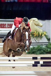 Minikus Todd, USA, Olympic Star<br /> World Cup Final Jumping - Las Vegas 2000<br /> © Hippo Foto - Dirk Caremans