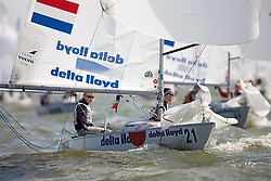 08_002733 © Sander van der Borch. Medemblik - The Netherlands,  May 24th 2008 . Day 4 of the Delta Lloyd Regatta 2008.