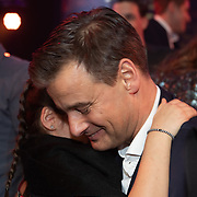 NLD/Hilversum/20200130 - Uitreiking De Gouden RadioRing 2020, Wilfred Genee met zijn dochtertje