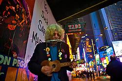 Artista de rua na Broadway. FOTO: Jefferson Bernardes / Preview.com