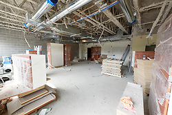Central High School Bridgeport CT Expansion & Renovate as New. State of CT Project # 015-0174. One of 82 Photographs of Progress Submission 32, 7 October 2017